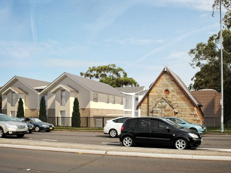 Coptic Church Redevelopment, Hurstville